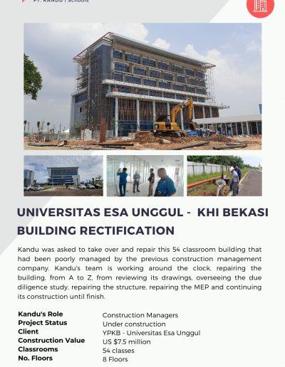 Universitas Esa Unggul - KHI Bekasi